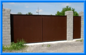 Основные преимущества распашных ворот