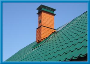 расположение трубы на крыше