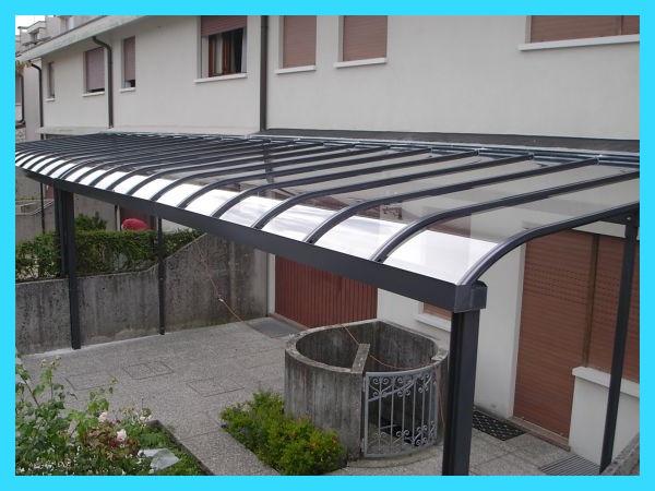 навес с односкатной крышей