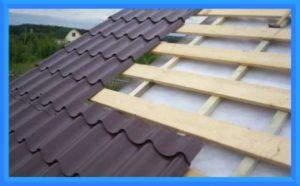 рубероид под профнастил на крышу